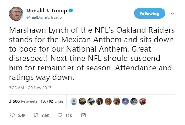 Trump Marshawn